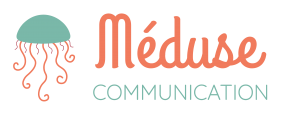 Méduse Communication - Logo Texte